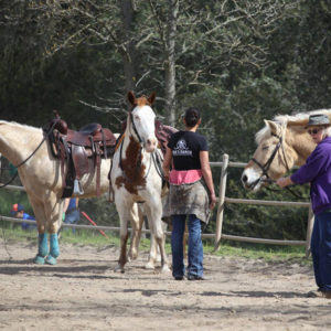 rias ranch group lesson