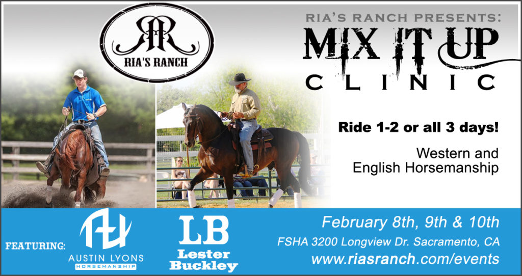 Mix It Up Clinic at Ria's Ranch